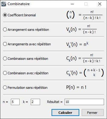 Kalkules Combinatoire