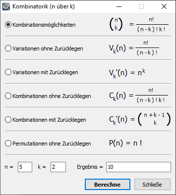 Kalkules Kombinatorik